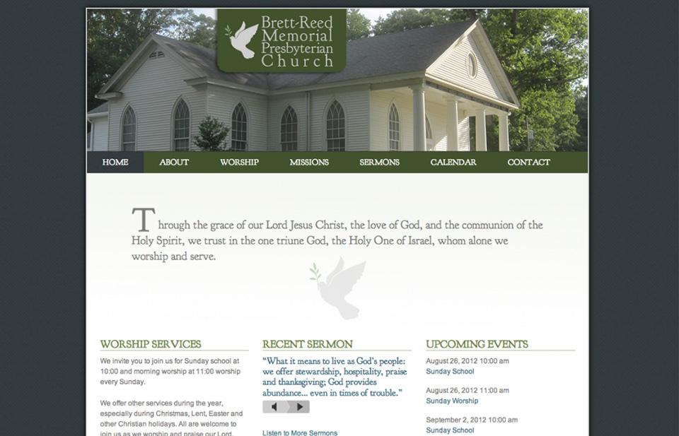 Brett-Reed Memorial Presbyterian Church Website