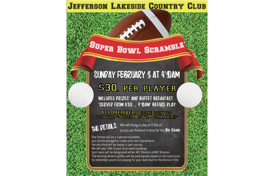 Jefferson Lakeside Event Poster