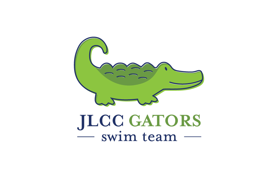 Jefferson Lakeside Country Club Swim Team Logo