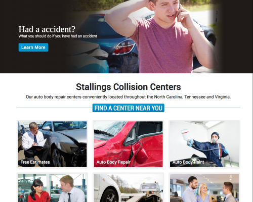Stallings Collision Centers